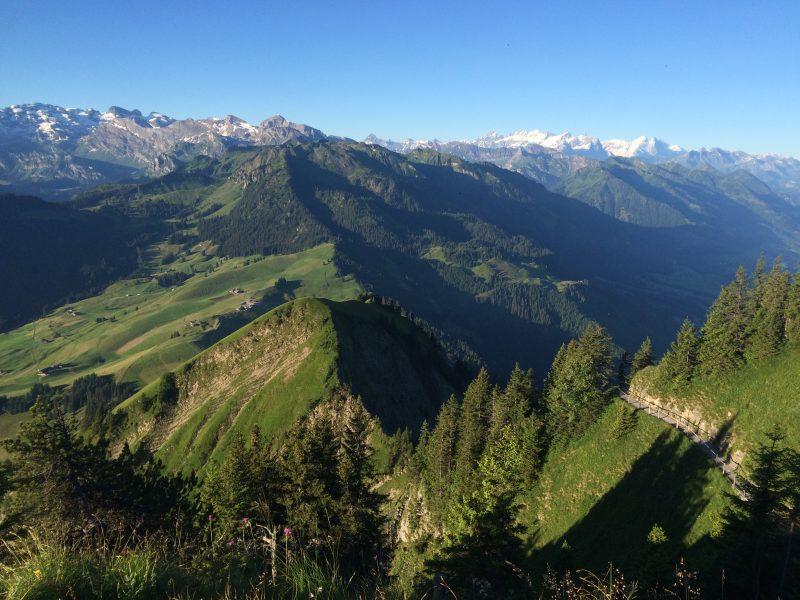 Bergkette Schweiz