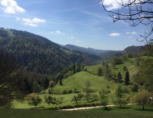 Alleine die Schweiz durchqueren Trans Swiss Trail